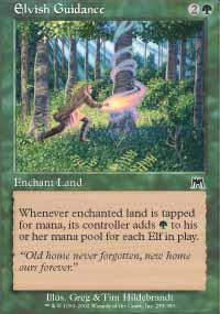 Elvish Guidance Magic Card
