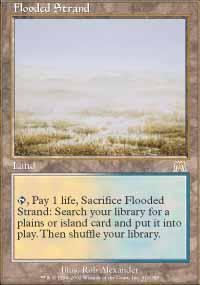 Flooded Strand Magic Card