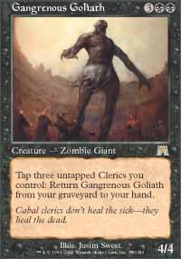 Gangrenous Goliath Magic Card