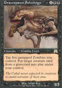 Gravespawn Sovereign Magic Card