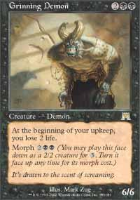 Grinning Demon Magic Card