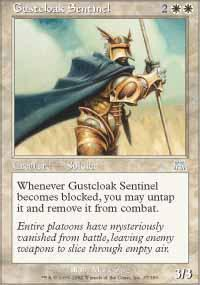 Gustcloak Sentinel Magic Card