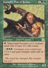 Kamahl, Fist of Krosa Magic Card