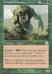 Krosan Colossus Magic Card