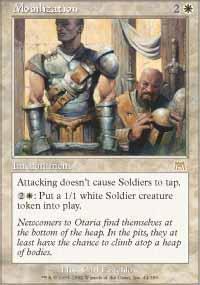 Mobilization Magic Card