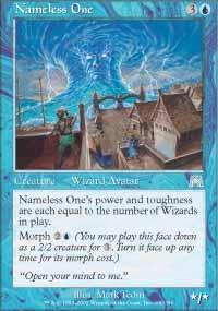 Nameless One Magic Card