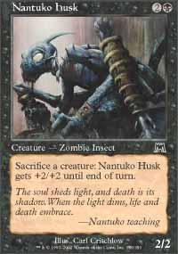 Nantuko Husk Magic Card