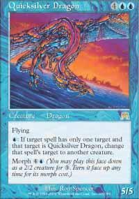 Quicksilver Dragon Magic Card