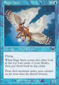 Sage Aven Magic Card