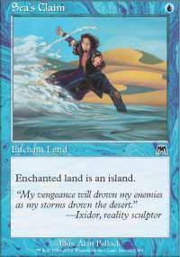 Sea's Claim Magic Card