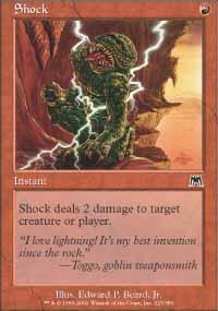 Shock Magic Card