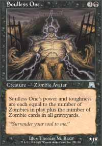 Soulless One Magic Card