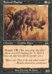 Spined Basher Magic Card