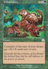 Tribal Unity Magic Card