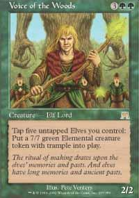 Voice of the Woods Magic Card