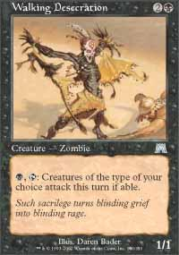 Walking Desecration Magic Card