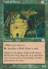 Wall of Mulch Magic Card