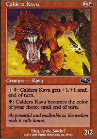 Caldera Kavu Magic Card