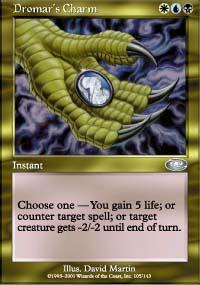 Dromar's Charm Magic Card