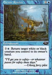 Escape Routes Magic Card