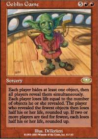 Goblin Game Magic Card