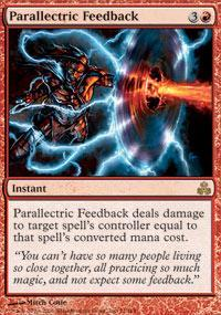 Parallectric Feedback Magic Card