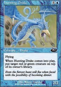 Hunting Drake Magic Card