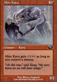 Mire Kavu Magic Card