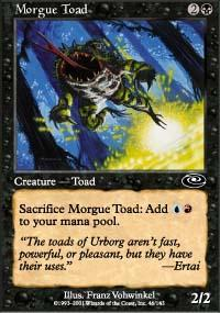 Morgue Toad Magic Card