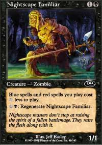 Nightscape Familiar Magic Card