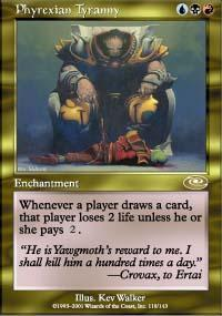 Phyrexian Tyranny Magic Card