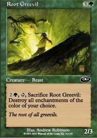 Root Greevil Magic Card