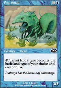Sea Snidd Magic Card