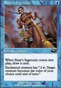 Sisay's Ingenuity Magic Card