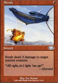 Strafe Magic Card
