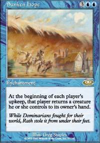 Sunken Hope Magic Card