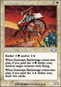 Sunscape Battlemage Magic Card