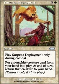 Surprise Deployment Magic Card