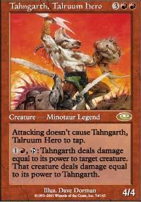 Tahngarth, Talruum Hero Magic Card