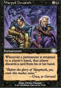 Warped Devotion Magic Card