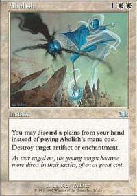 Abolish Magic Card