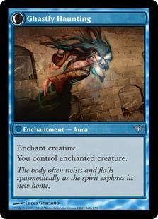 Ghastly Haunting Magic Card