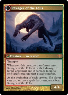 Ravager of the Fells Magic Card