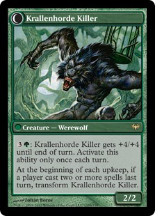 Krallenhorde Killer Magic Card