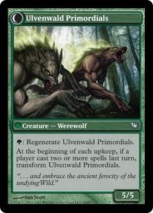 Ulvenwald Primordials Magic Card